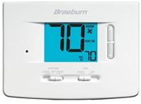1020 Braeburn 1 Heat/1 Cool Heat Pump/conventional Non-programmable Thermostat CAT330B,1020,833732001782