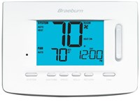 5220 Braeburn 3 Heat/2 Cool Heat Pump/conventional 7/5-2 Day Programmable/non-programmable Thermostat CAT330B,5220,833732001867