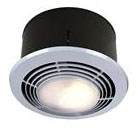 9093wh Broan 3.5 Sones 70 Cfm 1500w White Enameled Grille Heater Vent Light Combo CAT769,9093WH,9093WH,784891321948