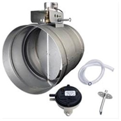 Md8tu D-w-o 8in Universal Automatic Make Up Air Damper With Pressure Sensor Kit CATD303,MD8TU,026715203796,MFGR VENDOR: BROAN,PRCH VENDOR: BROAN,