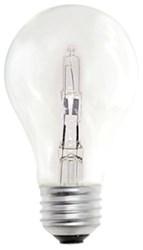 115042 Bulbrite A19 Halogen 750 Lumens 2900k E26 Base Clear Light Bulb CATBUL,115042,739698115047