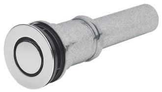 9050z-pc D-w-o Polished Chrome 2-7/16 Flange 1-1/4 X 4 Tailpiece Pop-down Lavatory Drain CATOCALF,9050Z-PC,9050ZPC,