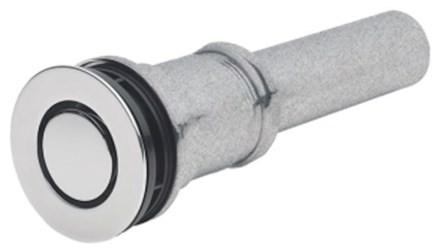 9050z-pn D-w-o Polished Nickel 2-7/16 Flange 1-1/4 X 4 Tailpiece Pop-down Lavatory Drain CATOCALF,9050Z-PN,