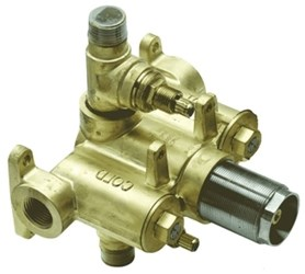 Th52-r 1/2in Thermostatic Rough Valve Only Dual Integral Volume Controls California Faucets CATCALF,TH52R,