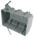 Ez44tn Ez Box 44 Cu In Rigid Pvc 3 Gang Nail-on Switch Box CAT730,EZ44TN,88700019959,3GB,345N,EZ44TN,PEEZ44,088700019959
