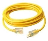 2688 50 Ft 10 Awg Lighted End Yellow Extension Cord CAT727,2688,029892026882,WIR,