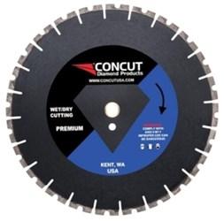Mt-14125 Concut Diamond 14 Diamond Cutting Blade CAT505,MFGR VENDOR: CONCUT,PRCH VENDOR: CONCUT,CONCUT,816198014596