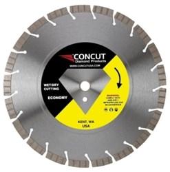 Tseg-20l Concut Diamond 14 Diamond Cutting Blade CAT505,CCOB,TSEG-20L,MFGR VENDOR: CONCUT,PRCH VENDOR: CONCUT,