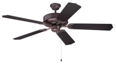 C52ob Pro Builder 52 Ceiling Fan 4659 Cfm Oiled Bronze ( Momtor Only ) CAT719,C52OB,647881119270