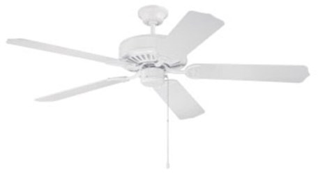 C52w Pro Builder 52 Ceiling Fan 4659 Cfm White ( Motor Only ) CAT719,C52W,647881010812