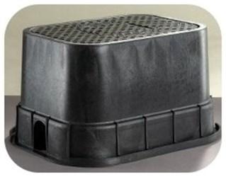 6x9x9 Econo Valve Box With Green Lid Dfw109.9.2 CAT423B,D109G,DFW109.9.2,DFW190092,D109,DFW,PVB,PMB,DFW109,