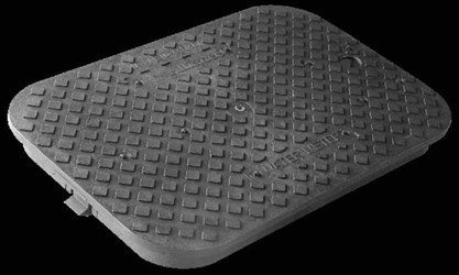 Dfw1200.1.lid Dfw 12 In X 17 In Black Rectangular Lid Only CAT423B,D1200,DFW1200.1.LID,DFW12001LID,DFW,DFW1200,1200,12001LID,