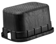 Dfw1300.12.1r 13x18x12 Rectangular Rib Meter Box With Black Rdr Lid CAT423B,MFGR VENDOR: DFW,PRCH VENDOR: DFW,1300,1300.12.1R,1300121R,DFW1300.12.1R,DFW1300121R,