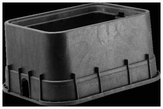16x22x12 Rectangular Jumbo Meter Box With Ci Rdr Dfw1500.12.1c CAT423B,D1500,DFW1500121C,DFW1500.12.1C,DFW,DFW1500,1500,1500.12.1C,1500121C,