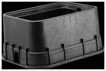 16x22x12 Jumbo Meter Box With Rdr Dfw1500.12.1r CAT423B,D1500,DFW1500.12.1R,DFW1500121R,DFW,DFW1500,1500,1500.12.1R,1500121R,