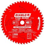 D0648f Diablo Tools Demon 6-1/2 In Circular Saw Blade 48 Teeth CAT500D,008925057871