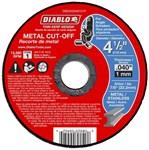 Dbd045040101f Diablo Tools 4-1/2 Cut-off Wheel Type 1 CAT500D,008925094524