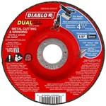 Dbd045125x01f Diablo Tools 4-1/2 Grinding & Cutting Wheel Type 27 CAT500D,008925094548