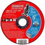 Dbd050040101f Diablo Tools 5 Cut-off Wheel Type 1