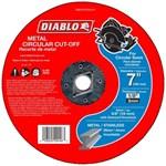 Dbd070125l01f Diablo Tools 7 Cut-off Wheel Type 1
