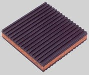 Mp-4c Diversitech 4 In X 4 X 0.875 Rubber/cork A/c Pad CAT381D,RU4478,08422125,999000042752,662766268386,864006,176-004,CORK,CP44,36067700,0686109670056