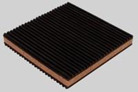 Mp-6c Diversitech 6 In X 6 X 0.875 Rubber/cork A/c Pad CAT381D,RU6678,FT,999000044492,686109670070,36067800,CORK,0686109670070