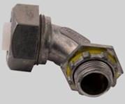 Pi352 Diversitech 90 Deg 1/2 Liquidtight/flexible Die-cast Zinc Angle Connector
