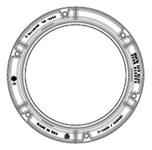 41420012 40.75 X 4.50 Ej Domestic Ci Manhole Ring Only CAT686D,1420,41420012,142041420012,V-1420,SR32,
