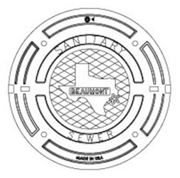 41430066 32 X 1-1/2 Round Sewer Beaumont Spec Cover CAT686D,41430066,V-1420,V1420,