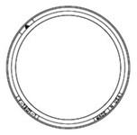 """41901110 1 1/2"""" Ejiw Manhole Increaser CAT686D,V1901-1,MIRJ,V19011,41901110,"""