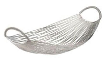 559002 Dimond Home Medium Silver Iron Gondola Boat Basket CATELG,MFGR VENDOR: ELK,PRCH VENDOR: ELK,
