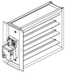 Nd10x10 Ultra-zone 10 X 10 Square Zoning Damper