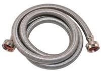 41028 Eastman 3/4 Braided Stainless Steel Washer 5 Drain Hose CAT191,41028,EWMC,EWM,BCWMH,BCWMS,EWMH,091712410287