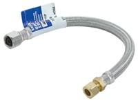 48035 Ez-flo Steel-flex 3/8 Od X 12 Nickel Plated Sink Supply Kit CAT191,48035,091712480358