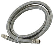 48388 Eastman 1/4 Braided Stainless Steel Ice Maker 30 Water Line CAT191,48388,EIM,EIMC,BCIMS,091712483885