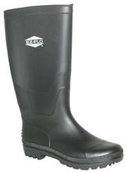 83120 Eastman Black Rubber Boots Size 10 CAT191,83120,BRB,091712831204