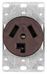 38b-box Eaton Power Flush Straight Blade 125/250 Volts Brown Glass Reinforced Nylon Electrical Receptacle CAT752C,38B-BOX,032664199103