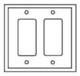 Pj262la Cooper Light Almond 2 Gang 2-decorator/gfci Mid Size Wall Plate CAT752C,PJ262LA,032664579608,032664751387
