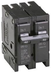 Br240 Eaton 40a 120/240v 2 Pole Br Plug-on Circuit Breaker CAT751,09705318,C240,CC240,1C240,BR240,CB240,40AMP,786676363006