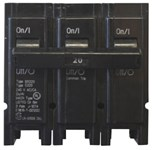 Br320 Eaton 20a 240v 3 Pole Br Plug-on Circuit Breaker CAT746,C320,CC320,BR320,CB320,786676367752,