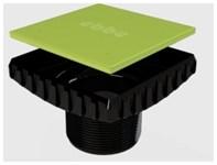 E4400 4 Inch Square Drain Riser & Plug CATEBBE,E4400,EBD,EBBEE,