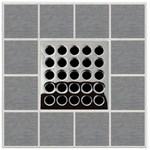 E4401 4 Inch Grate/chrome CATEBBE,E4401,EBD,EBBEE,