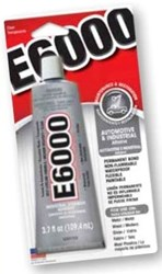 220015 Eclectic Products 3.7 Oz Clear Adhesive CAT263,E6000,50076818364028,