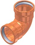 3 Elkhart Copper Close Turn 90 Elbow P X P CAT539XP,10062027,683264620278,XLMK,XLM