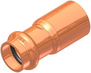 2 X 1-1/4 Elkhart Copper Fitting Reducer Male Soldered X Press CAT539XP,10075152,683264751521,XTNMN,XFRKH