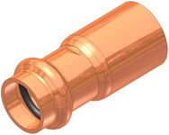 1-1/4 X 1/2 Elkhart Copper Fitting Reducer Male Soldered X Press CAT539XP,10075336,683264753365,XFELD,XFRHD