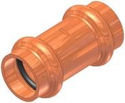 2 Elkhart Copper Coupling W/ Stop P X P CAT539XP,10075510,683264755109,XCK