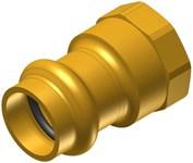 1 Elkhart Low Lead Brass Female Adapter P X Fipt CAT539XP,10075754,683264757547,XFEG,XFAG