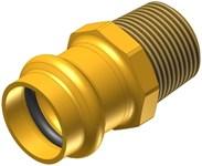 1-1/4 Elkhart Low Lead Brass Male Adapter P X Mipt CAT539XP,10075810,683264758100,XMAH