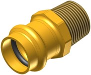 1-1/2 Elkhart Low Lead Brass Male Adapter P X Mipt CAT539XP,10075812,683264758124,XMAJ